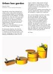 Urban Bee Garden — Maurice Arntz